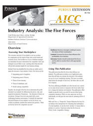Industry Analysis: The Five Forces