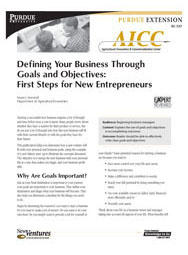 Defining Your Business Through Goals and Objectives: First Steps for New Entrepreneurs