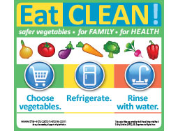 Eat Clean magnets 25/pkg