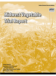 Midwest Vegetable Trial Report for 2004
