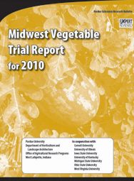Midwest Vegetable Trial Report for 2010