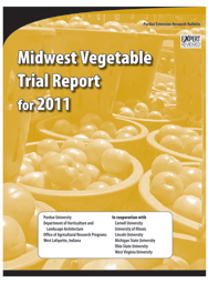Midwest Vegetable Trial Report for 2011