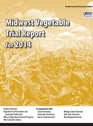 Midwest Vegetable Trial Report for 2014