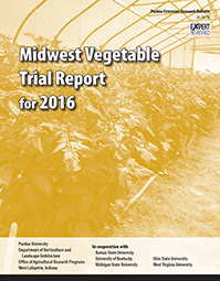 Midwest Vegetable Trial Report for 2016 - Print-On-Demand