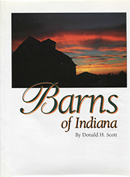 Barns of Indiana Vol 1 (Hardback)