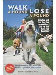Walk a Hound, Lose a Pound: How You and Your Dog Can Lose Weight, Stay Fit, and Have Fun Together (paperback book)