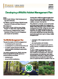 how to write a wildlife management plan