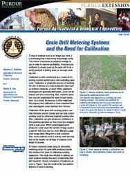 Grain Drill Metering Systems and the Need for Calibration