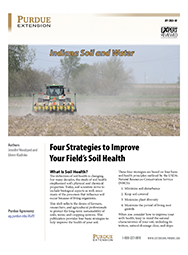 Indiana Soil and Water: Four Strategies to Improve Your Field's Soil Health