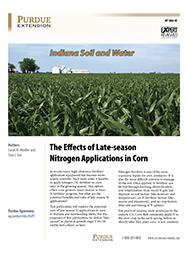 Indiana Soil and Water: The Effects of Late-season Nitrogen Applications in Corn