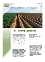 Soil Sampling Guidelines