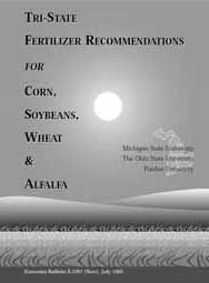 Tri-State Fertilizer Recommendations for Corn, Soybeans, Wheat & Alfalfa