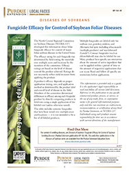 Diseases of Soybean: Fungicide Efficacy for Control of Soybean Foliar Diseases
