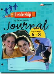 Step Up 2 - My Leadership Journal (grades 6-8)