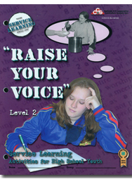 Service Learning 2: Raise Your Voice