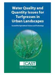 Water Quality and Quantity Issues for Turfgrasses in Urban Landscapes