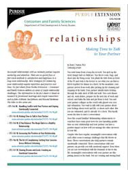 Making Time to Talk to Your Partner (Relationships series)