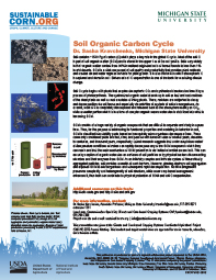 Soil Organic Carbon Cycle