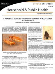 A Practical Guide to Cockroach Control in Multi-Family Housing Units