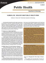 Human Lice: Biology and Public Health Risk