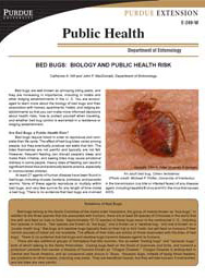 Bed Bugs: Biology and Public Health Risk