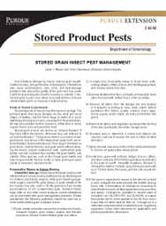 Stored Grain Insect Pest Management