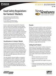 Food Safety Regulations for Farmers' Markets