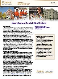 Unemployment Trends in Rural Indiana