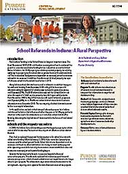 School Referenda in Indiana: A Rural Perspective