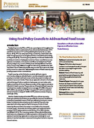 Using Food Policy Councils to Address Rural Food Issues