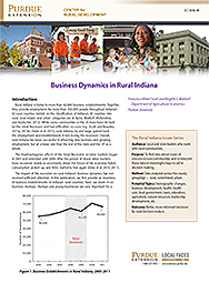 Business Dynamics in Rural Indiana