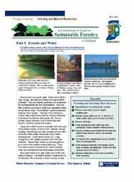 A Landowner's Guide to Sustainable Forestry: Part 5: Forests and Water