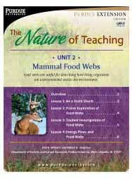 The Nature of Teaching, Unit 2: Mammal Food Webs