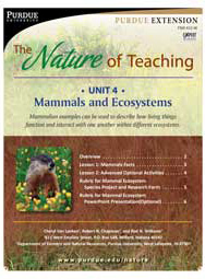 The Nature of Teaching: Unit 4, Mammals and Ecosystems