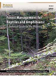 Forest Management for Reptiles and Amphibians: A Technical Guide for the Midwest