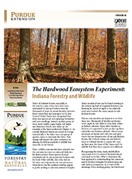 The Hardwood Ecosystem Experiment: Indiana Forestry and Wildlife