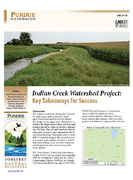 Indian Creek Watershed Project: Key Takeaways for Success