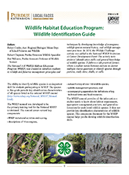 Wildlife Habitat Education Program: Wildlife Identification Guide