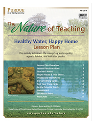 Healthy Water, Happy Home - Lesson Plan