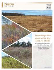 Renovating native warm-season grass stands for wildlife: A Land Manager's Guide