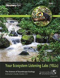 Your Ecosystem Listening Labs (YELLS): The Science of Soundscape Ecology Instructor's Guide, Grades 5-8