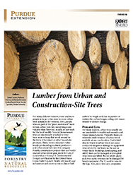 Lumber from Urban and Construction-Site Trees