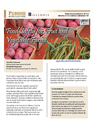 Food Safety for Fruit and Vegetable Farms: Good Agricultural