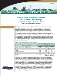 Cost of Good Sanitation Practices for On-Farm Grain Storage