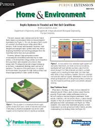 Septic Systems in Flooded and Wet Soil Conditions
