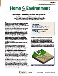 Home & Environment: Operating and Maintaining an Onsite Sewage System