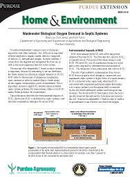 Wastewater Biological Oxygen Demand in Septic Systems