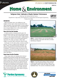 Turfgrass Color: Indicator of Septic System Performance