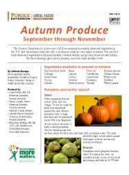 Autumn Produce