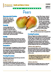 Let's Preserve: Pears